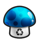 128x128px size png icon of Recycle Empty