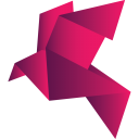 128x128px size png icon of bird red 2