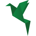 128x128px size png icon of birds green 2