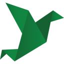 128x128px size png icon of birds green