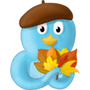 128x128px size png icon of Fall leaves
