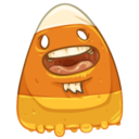 128x128px size png icon of Candy Corn Ken