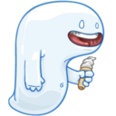 128x128px size png icon of Ghost of Hunger Past