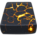 128x128px size png icon of Volcanic FireWire Drive