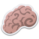 128x128px size png icon of Brain