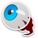 128x128px size png icon of Eyeball