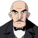 128x128px size png icon of Alfred Pennyworth