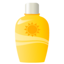 128x128px size png icon of sun protection