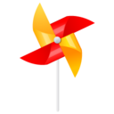 128x128px size png icon of wind mill