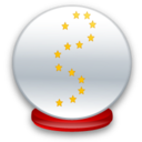 128x128px size png icon of Crystal ball