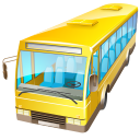 128x128px size png icon of Bus