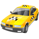 128x128px size png icon of Taxi