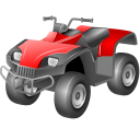 128x128px size png icon of Utility atv