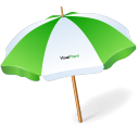 128x128px size png icon of umbrella