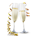 128x128px size png icon of Champagne