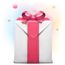 128x128px size png icon of Valentines Day Present