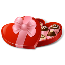 128x128px size png icon of CandyBox HeartShaped