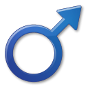 128x128px size png icon of Sex Male