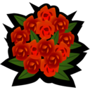 128x128px size png icon of Bouquet