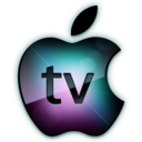 128x128px size png icon of Apple TV Logo
