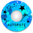128x128px size png icon of CD Blue
