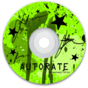 128x128px size png icon of CD Green