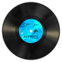 128x128px size png icon of Vinyl Blue