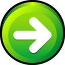 128x128px size png icon of Button Next