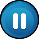 128x128px size png icon of Button Pause