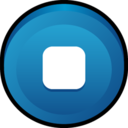 128x128px size png icon of Button Stop