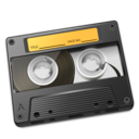 Cassette Yellow Icon