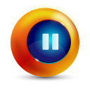 128x128px size png icon of pause