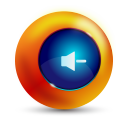 128x128px size png icon of sound decrease