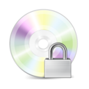 128x128px size png icon of Lock Disk