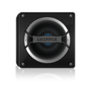 128x128px size png icon of Black Speaker