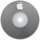 128x128px size png icon of Apple Gray