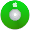 128x128px size png icon of Apple Green