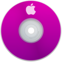 128x128px size png icon of Apple Purple