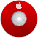 128x128px size png icon of Apple Red