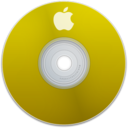 128x128px size png icon of Apple Yellow