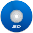 128x128px size png icon of BD Blue