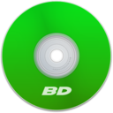 128x128px size png icon of BD Green