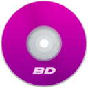 128x128px size png icon of BD Purple