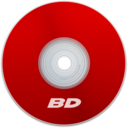 128x128px size png icon of BD Red
