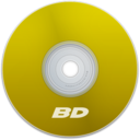 128x128px size png icon of BD Yellow