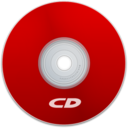 CD Red Icon