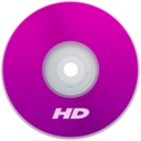 128x128px size png icon of HD Purple