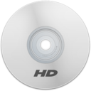 128x128px size png icon of HD White