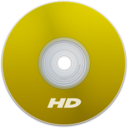 128x128px size png icon of HD Yellow