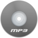 128x128px size png icon of Mp3 Gray